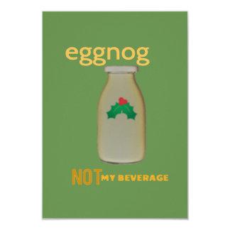 Gemada! Não meu cartão da bebida