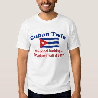 Gêmeo cubano bonito tshirt