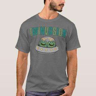 Gêmeos da alienígena de TWINVASION Camiseta