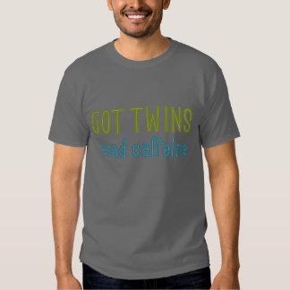 GÊMEOS OBTIDOS cafeína da necessidade Camiseta