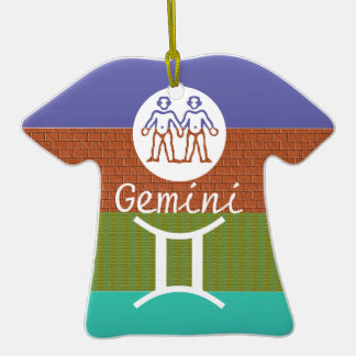 GÊMEOS - símbolo do ZODÍACO Enfeites
