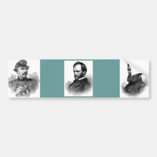 General da guerra civil adesivo