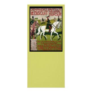 General Dufour Farinha le Biscoito 1899 10.16 X 22.86cm Panfleto