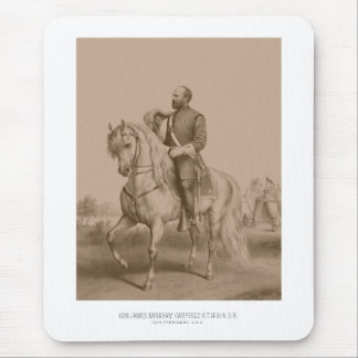 General James Garfield -- Guerra civil Mouse Pad