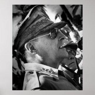 General MacArthur -- E.U. Herói da guerra Impressão