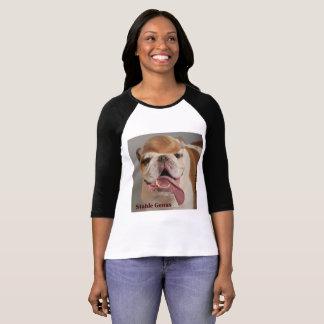 """""""GÉNERO ESTÁVEL"""" camisa pelas cadelas reais!"""