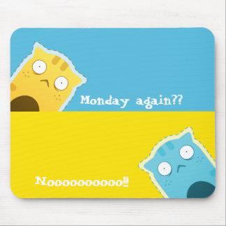 Gengibre azul Cat#2 Mousepad