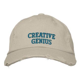 Gênio criativo boné bordado