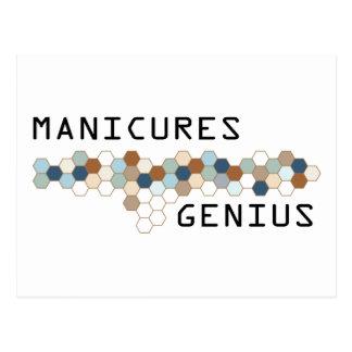 Gênio dos Manicures Cartão Postal