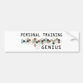 Gênio pessoal do treinamento adesivo