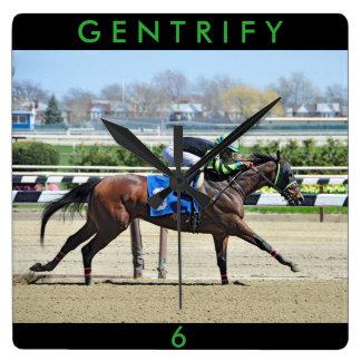 Gentrify Relógio Quadrado