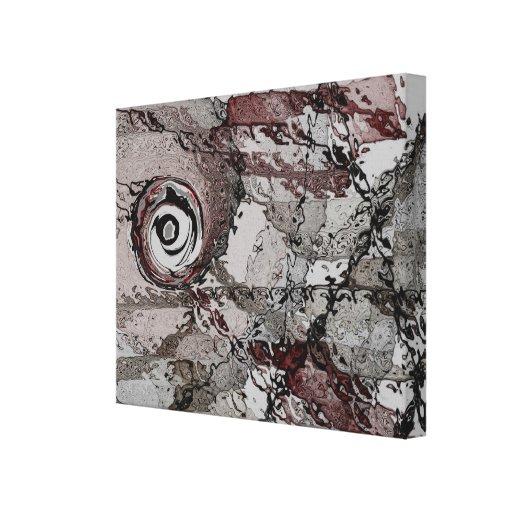 GEO - impressão abstrato das canvas