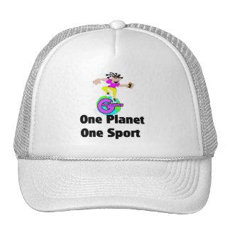 Geocaching um esporte do planeta um boné