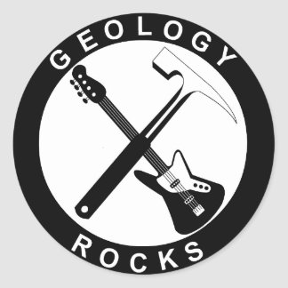 Geology Rocks Adhesive Adesivo
