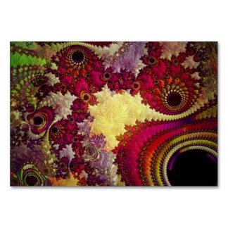 geometria abstrata surpreendente do fractal