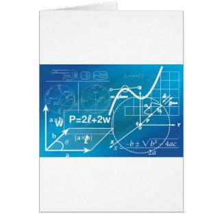 Geometria Cartão Comemorativo