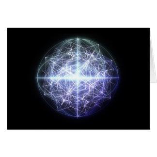 Geometria do cartão do espírito