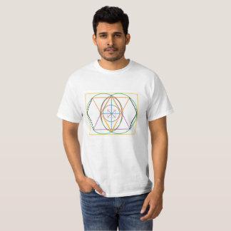 Geometria sagrado camiseta