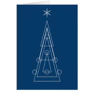 Geometria SAGRADO de | do espírito do Natal Cartão Comemorativo