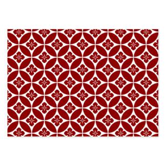 geometricas dos formas do padrão cartão de visita grande