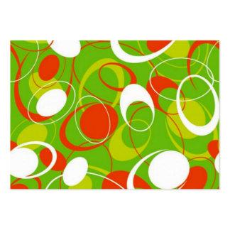geometrico do padrão cartão de visita grande