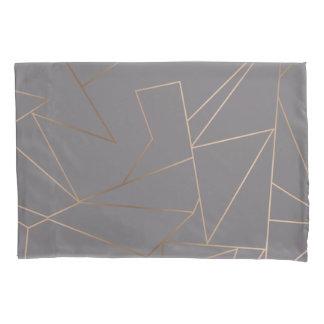 Geométrico minimalista moderno elegante do ouro