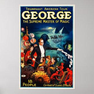 George --O mestre supremo do poster mágico