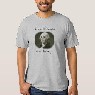 George Washington é meu homeboy. Tshirts