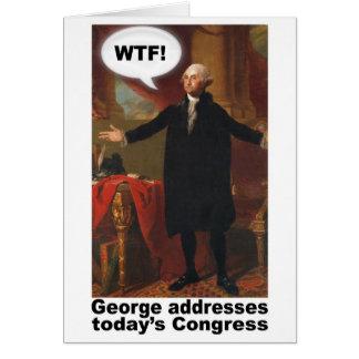George Washington WTF! Cartão