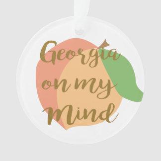 Geórgia em meu ornamento da mente