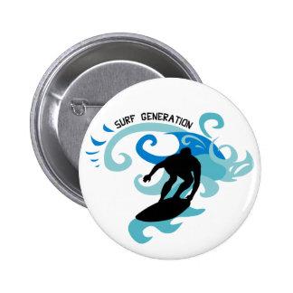 Geração do surf bóton redondo 5.08cm