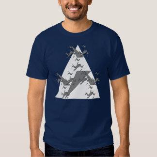 Gerador algorítmico do t-shirt de Triagle do