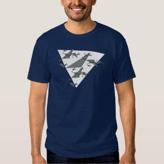 Gerador algorítmico do t-shirt do triângulo do