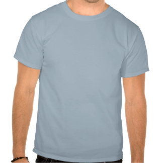 Gerador MacArthur Eu retornará (o impressão azul) T-shirts