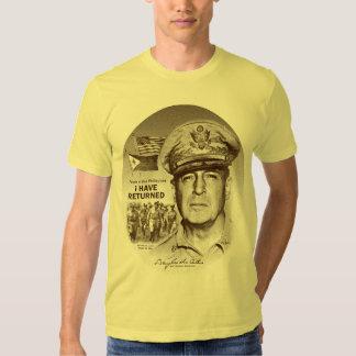 Gerador MacArthur Eu retornou (o impressão do T-shirt