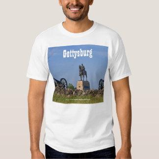 Gerador Meade na camisa de Gettysburg T-shirts