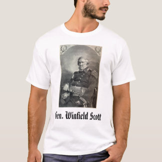 geral-winfield-scott, Gerador Winfield Scott Camiseta