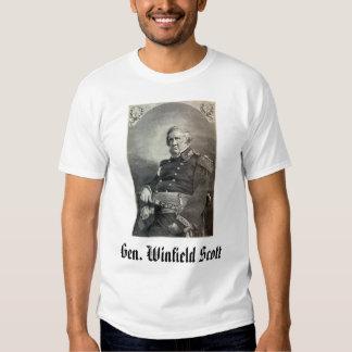 geral-winfield-scott, Gerador Winfield Scott T-shirts