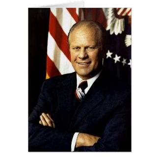 Gerald Ford Cartão Comemorativo