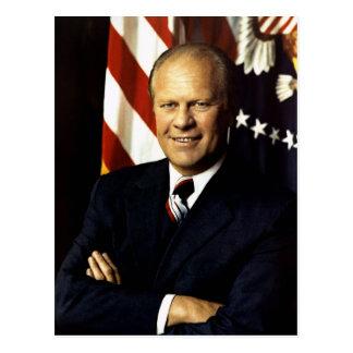 Gerald Ford Cartão Postal