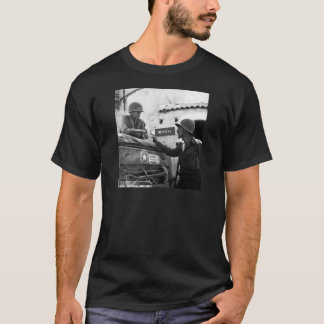 Geralmente George S. Patton e coronel Lyle Bernard Camiseta