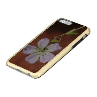 Gerânio selvagem capa incipio feather® shine para iPhone 6