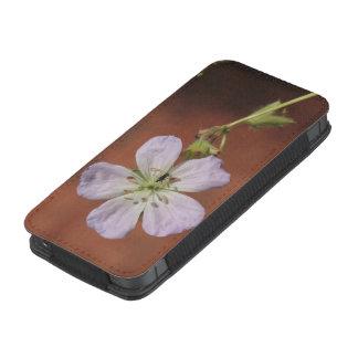 Gerânio selvagem bolsa para celular