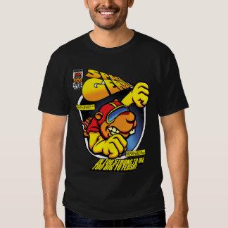 Gerbil do espaço camisetas