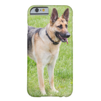 German shepherd feliz capa barely there para iPhone 6