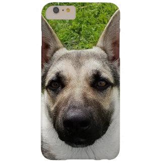 German shepherd Iphone 6/6s mais, mal lá Capa Barely There Para iPhone 6 Plus