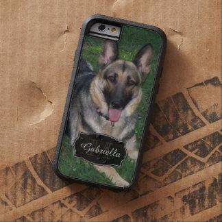 German shepherd: Personalizado: caso do iPhone 6 Capa Tough Xtreme Para iPhone 6