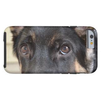 German shepherd por Shirley Taylor Capa Tough Para iPhone 6