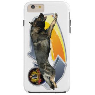 German shepherd que funciona no caso/cobrir capa tough para iPhone 6 plus
