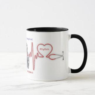 gestão cardíaca do ritmo: Caneca do RITMO do